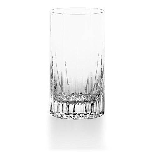 Mikasa Arctic Lights Crystal Highball Glass, 12.5-Ounce