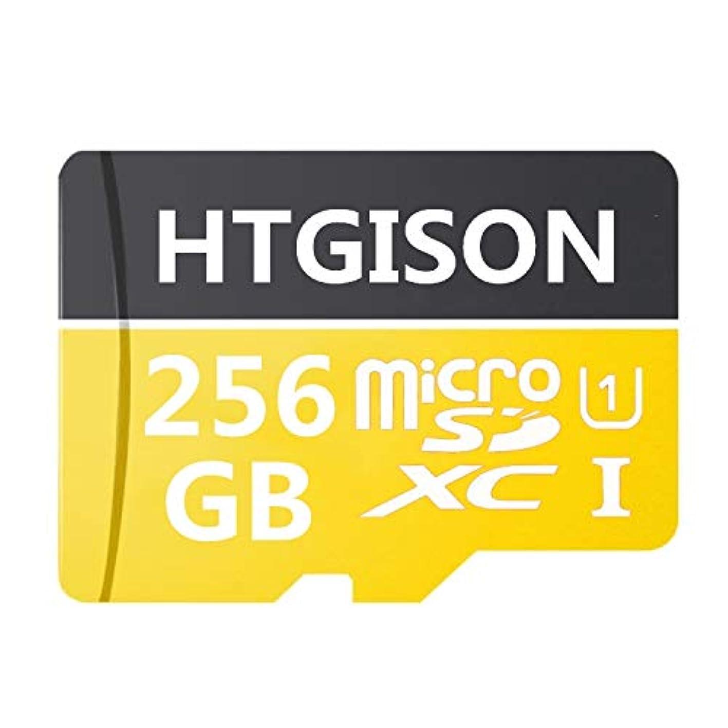 火山電報症状256 GBマイクロSD SDXCメモリカード高速クラス10 with Micro SDアダプタ、Designed for Androidスマートフォン、タブレット、および他の