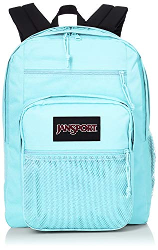 JanSport Big Campus 15 Inch Laptop Backpack - Lightweight Daypack, Crystal Waters