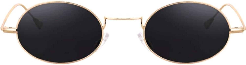 Fuqiuwei Sonnenbrillen Simple And Versatile Personality Retro Round Frame Red Sunglasses Female Sunglasses