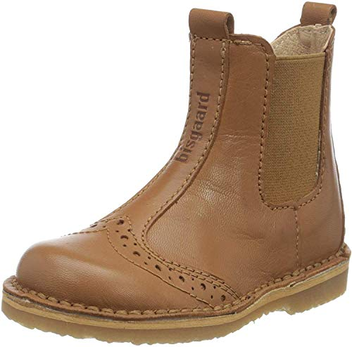 Bisgaard Unisex-Kinder MASI Chelsea Boots, Braun (Cognac 1312), 22 EU