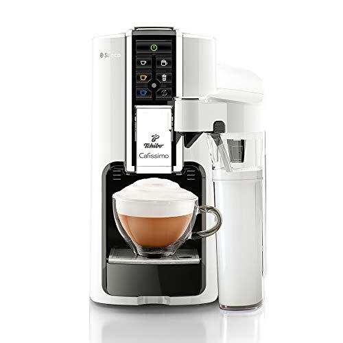 Tchibo Saeco Cafissimo Latte Kaffeemaschine, Bianco