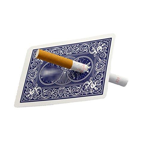 TOYMYTOY Kartentricks Magie Zigarette Penetration Card Funny Tricks Magic Bühne Performace Zubehör (zufällige Farbe)