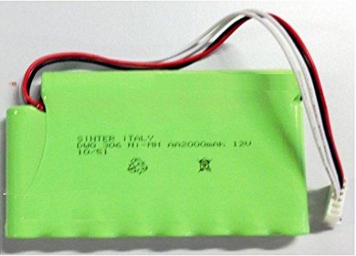 Globus Pacco Batteria 2000mA per GENESY 3000 12V batterie Accessori Ricambio
