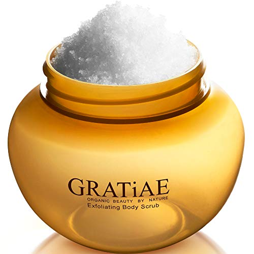 Gratiae Organics Exfoliating Body Scrub, Passion Fruit and Lime for...