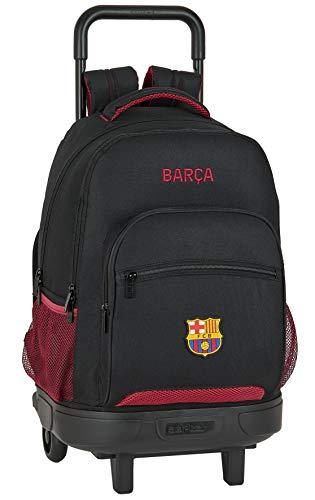safta Mochila Escolar con Carro Incluido y Espalada Acolchada de FC Barcelona, Multicolor (FC Barcelona Layers)