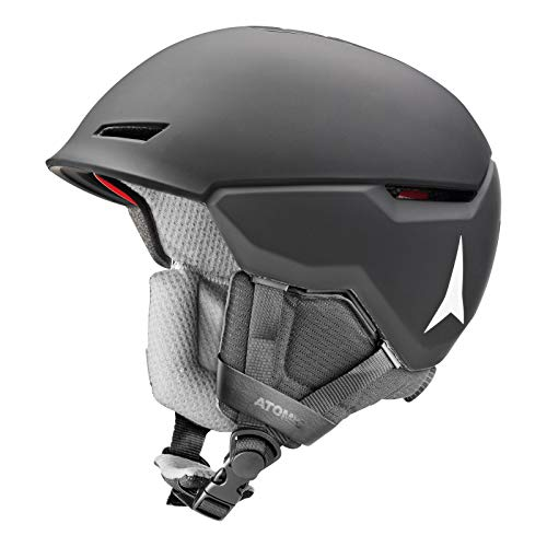 ATOMIC Unisex Revent+ All Mountain-Skihelm, M (55-59 cm), Schwarz, AN5005640M