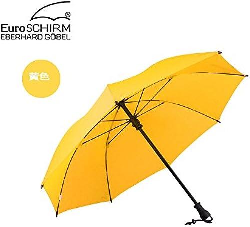 YFF@ILU Cadeau d'amoureux de cadeau d'amoureux de longue tige hommes parapluie Parapluie tempête tige droite, femmes et hommes avec parapluie 3 baromètre