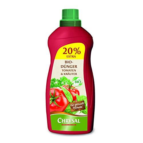 Chrysal Bio Flüssigdünger für Tomaten und Kräuter - 1200 ml