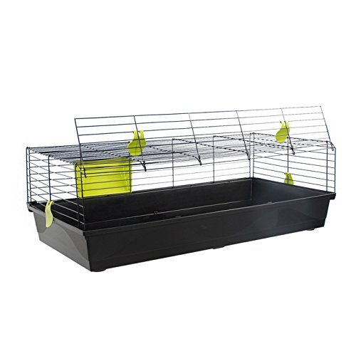 VOLTREGA Holmes - Jaula para Conejos (120 cm, 3 Unidades)