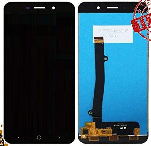 ULDAN Pantalla LCD ZTE Blade A602 Touch Screen Cristal Pantalla Panel Monitor Negro