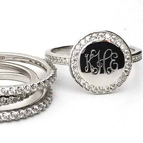 monogrammed ring - 1