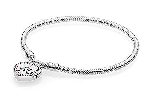 Pandora Damen-Charm-Armbänder 925 Sterlingsilber zirkonia 596586FPC-18