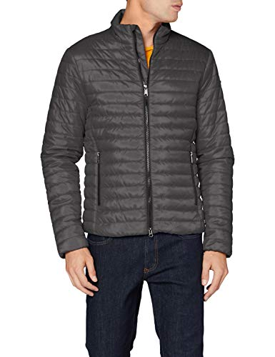 Geox M Wilmer Chaqueta Acolchada, Forged Iron, 52 para Hombre