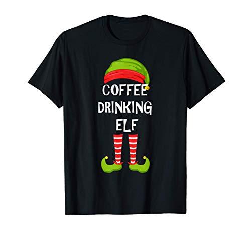 El duende que bebe café, que hace juego con el pijama de la Camiseta