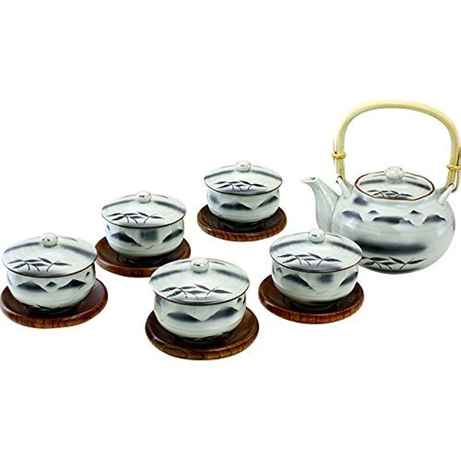 貫入フェザー実証する有田焼 CtoC JAPAN 木茶托付 番 茶器セット 02-190547