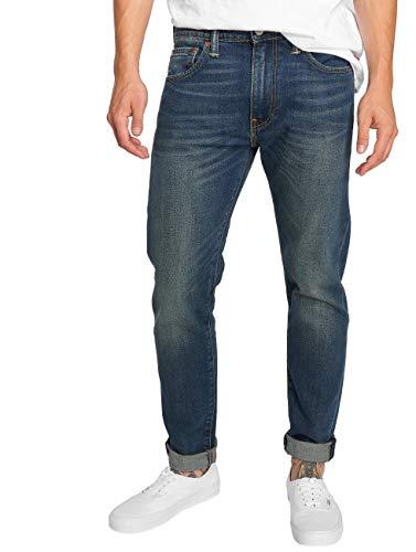 Levi's 515 Slim, Herren Jeans Hose, Stretchdenim, mad Square Blue, W 34 L 30 [21461]