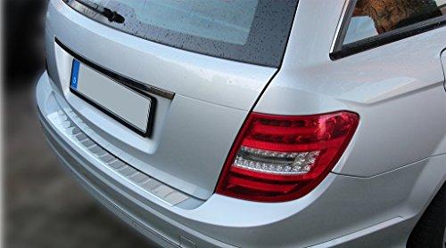 Mercedes S204 W204 KOMBI Edelstahl Ladekantenschutz Abkantung Chrom