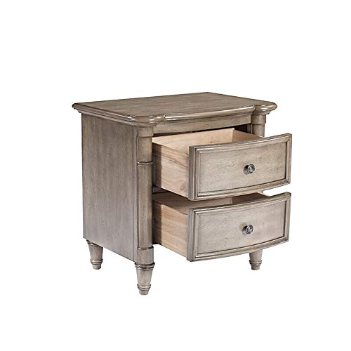 Why Choose BoeWan Multipurpose European Bedside Table Vintage Nightstand Solid Wood Bedroom Furnitur...