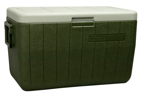 Coleman Performance Portable Cooler, 48 Quart, Green - 3000000021