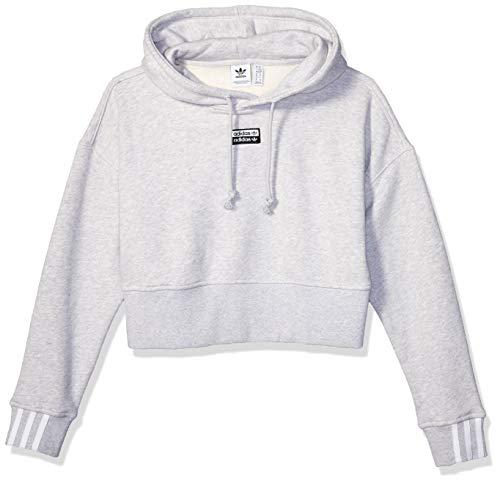 adidas Originals Women's V-ocal Cropped Hooded Sweatshirt
