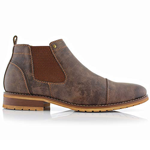 Ferro Aldo MFA606325 Slip On Ankle Men's Casual Chukka Boots Brown 11