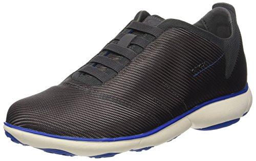 Geox Geox Herren U Nebula F Sneaker, Grau (Anthracite), 44 EU