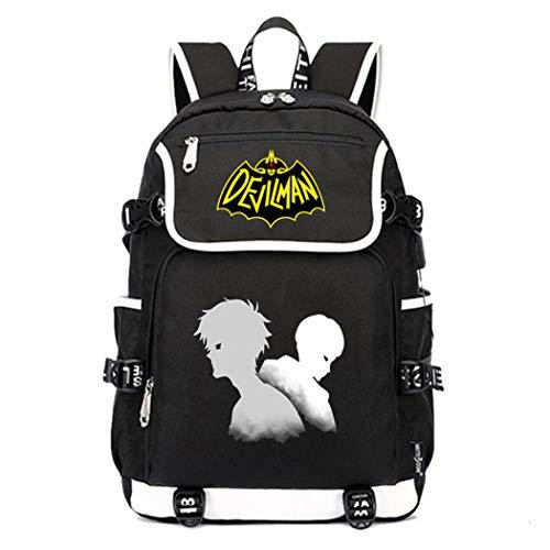 Cosstars DEVILMAN Crybaby Anime Cosplay Tasche Schultasche Rucksack 15.6