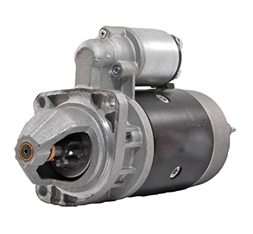 Rareelectrical STARTER MOTOR COMPATIBLE WITH KHD DEUTZ ENGINE BF6L912 F4L912 F6L911 0-001-358-044 AZJ0402
