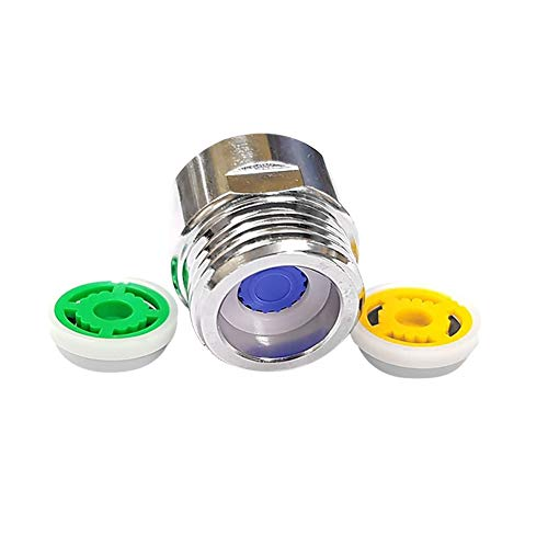BEAUTYBIGBANG Strahlregler Dusche Stromverringerungs Begrenzer Set Satz bis zu 70% Wassereinsparung 4/6/9 L/min Wasser-Spar-Set für Brauseschläuche Durchflussbegrenzer Wassersparer für Dusche