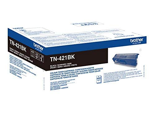 Überschrift: Brother Original Tonerkassette TN-421BK schwarz (für Brother HL-L8260CDW, HL-L8360CDW, DCP-L8410CDW, MFC-L8690CDW, MFC-L8900CDW)