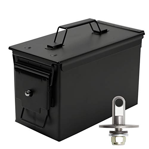 Aolamegs Ammo Box Can Lock Hardware Kit .50 Cal, Fat 50,l 30...