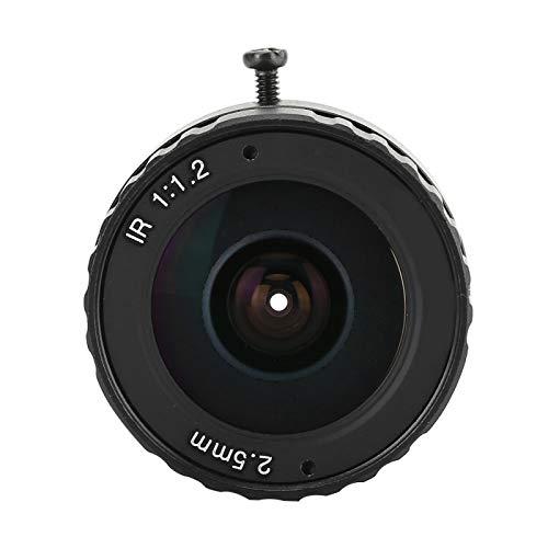 Cameravervangingsonderdelen, aluminium HD CCTV-lens Vaste brandpuntskaartlens CW-FL02514-3MP voor CCTV-cameralens
