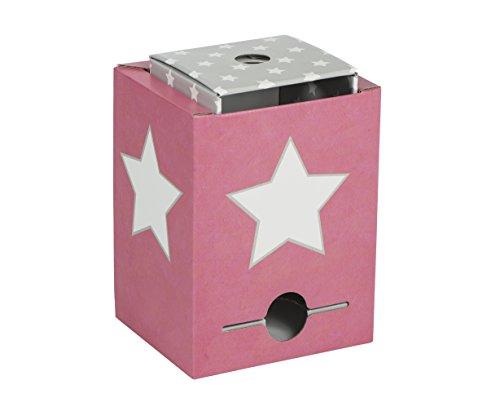 BonnieBoxx - Stern rosa: Wo die kleinen Bücher wohnen