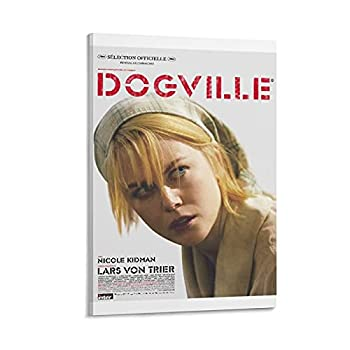 Shuangyou Dogville Classic Movie France Movie Posters Art Print Wall Photo Paint Poster Hanging Picture Family Bedroom Decor Gift 20×30inch 50×75cm