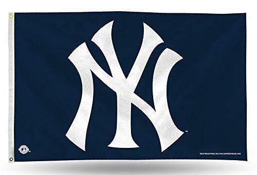 Rico Industries FGB4702 MLB New York Yankees 91 x 152 cm Banner Flagge