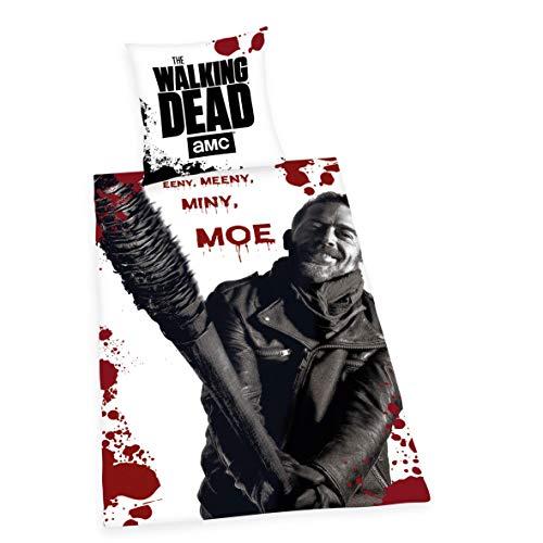 Herding The Walking Dead - Juego de Ropa de Cama (Funda nórdica de 135 x 200 cm, Cierre de Cremallera de Calidad)