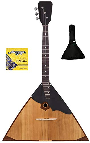 Professional balalaika + gig bag + extra strings. Handcrafted since 1818