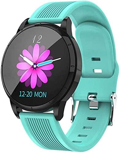 Reloj Inteligente Mujeres Pulsera Hombres Actividad Fitness Tracker Monitor de Presión Arterial para Android IOS-Rosa