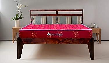 Extra Sleep Bed & Mattress Combo - Sheesham Wood Bed with Coir Mattress (78x60 Inch)