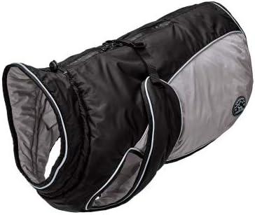 HUNTER Dog Coat Uppsala Extreme Grey Quality Super popular specialty store inspection S Black 35