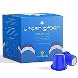 urban green® NutriCaps Abendruhe - 1 Packung mit 14 Kapseln - Holunderbeeren-Geschmack - kompatibel mit Nespresso® kompatiblen Maschinen - für erholsamen Schlaf - Nahrungsergänzung