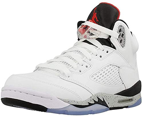 Nike Herrenschuhe Air Jordan 5 Retro GS in Dunkelbraunem Wildleder 440888-051