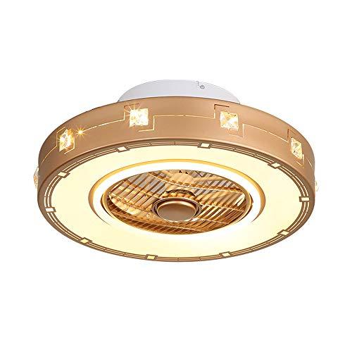 XDDRB Deckenventilator casa Fan kreative Moderne LED Dimmbar deckenventilator mit Beleuchtung und Fernbedienung leise Ultra-leise energiesparend Schlafzimmer Zimmerlampe