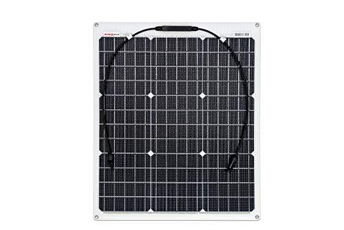 enjoy solar® ETFE Marine 50W 12V semiflexible Módulo solar celdas PERC ideal para caravana yate barco