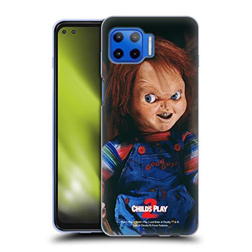 Head Case Designs Licenciado Oficialmente Child'S Play Doll II Key Art Carcasa de Gel de Silicona Compatible con Motorola Moto G 5G Plus
