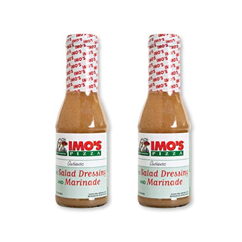 Imo's House Italian Dressing and Marinade (Pack of 2 Bottles), Authentic...