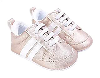 Mix & Max Contrast Side Stripe Lace-up Sneakers for Girls