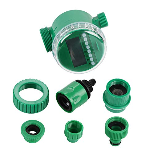 Temporizador de Agua para el hogar, Programador múltiple electrónico, LCD Digital automático, programas de Controlador de riego de jardín
