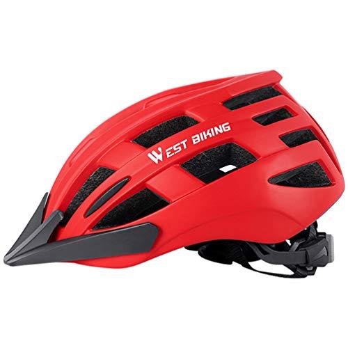 CLISPEED Casco para Bicicleta Casco para Bicicleta para Adultos Casco para Bicicleta...